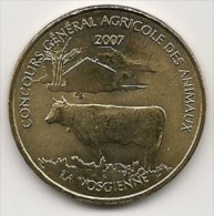 Médaille  Concours Général Agricole Des Animaux   (Salon De L´Agriculture)  2007  -  Neuve - Monnaie De Paris - Monnaie De Paris