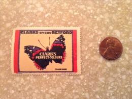 US, Vintage Cinderella Stamp - Clarks Of Retford – Dyeing, Dry Cleaning (1930s) - Cinderellas