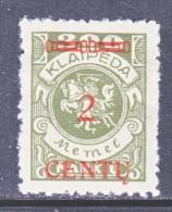 Memel  N 44  * - Unused Stamps