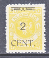 Memel  N 51  * - Unused Stamps