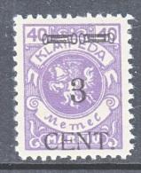 Memel  N 53  * - Memel (1920-1924)