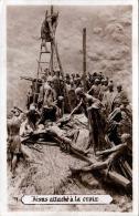 Jesus Attache A La Croix, 1931, Gel.v.Jugoslawien N. Italien - Ereignisse