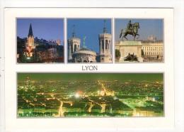 CP 10*15/AF148/LYON MULTIVUES - Lyon