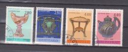 """FRANCE / 1994 / Y&T N° 2854/2857 : """"Arts Décoratifs"""" (4 TP) - Choisis - Tous Cachet Rond - France"""