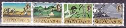 Swazieland, 1968, SG 137 - 140, Independence, MNH - Swaziland (1968-...)