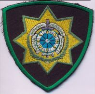Azerbaijan Customs Services Uniform Emblem Patches - Ecussons Tissu