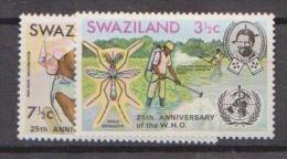 Swazieland, 1973, SG 198 - 199, MNH - Swaziland (1968-...)
