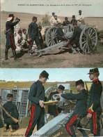 2 Cartes  Sur Artillerie - France