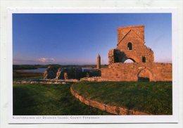 NORTHERN IRELAND - AK 182400 County Fermanagh - Klosterruinen Devenish Island - Fermanagh