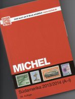 MICHEL South-America Part 3/1 Stamps Catalogue 2013 New 79€ Band A-I : Argentinien Bolivien Brazil Chile Ecuador Guyana - Old Paper