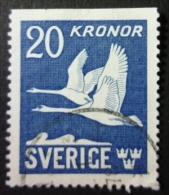 SVERIGE - AIRMAIL 1942-53: YT PA 7a, O - FREE SHIPPING ABOVE 10 EURO