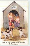 MADGE WILLIAMS  - Qui Va à La Chasse Perd Sa Place. - Cartes Humoristiques