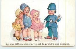 MADGE WILLIAMS  - Le Plus Difficile Dans La Vie Est De Prendre Une Décision. - Cartes Humoristiques