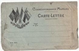 Carte-Lettre Aux Drapeaux/ 1736 - Postmark Collection (Covers)