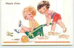 AGNES RICHARDSON  - Plaisir D'été. - Cartes Humoristiques