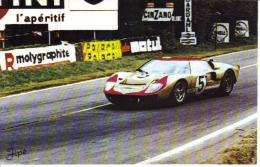 24 Heures Du Mans  -  Ford GT40  -  CP - Non Classés