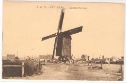 MOULIN DECROOS DE GHYVELDE NORD 59 - Windmills