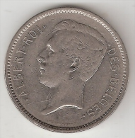 Belguim 5 Francs 1932 French Posision A   Vf N U Lagere Prijs !!! - 1909-1934: Albert I