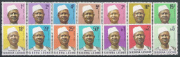 Sierra Léone N° YVERT 386/99 NEUF ** - Sierra Leone (1961-...)