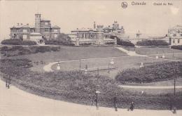 Ostende Chalet Du Roi Feldpost Schwere Marine Haubitz Batterie Korpsartillerie Regiment 1917 - Oostende
