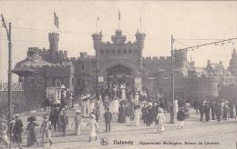 Ostende Hippodrome Feldpost Schwere Marine Haubitz Batterie Korpsartillerie Regiment 1917 - Oostende