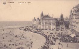 Ostende La Digue Et Le Kursaal Feldpost Schwere Marine Haubitz Batterie Korpsartillerie Regiment 1916 - Oostende