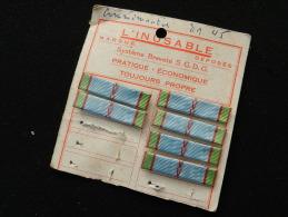 MEDAILLE COMMEMORATIVE 39-45    - TRES ANCIENNE BARETTE