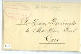 BRIEF * GELOPEN In 1907 Van  HAARLEM Aan De KERKVOOGDEN Van De NEDERLANDS HERVORMDE KERK Te GOES (8245) - Periode 1891-1948 (Wilhelmina)