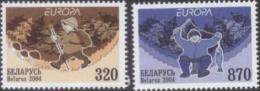 BY 2004-543-4 CEPT, BELORUSSIA, 4 X 2v, MNH - Belarus