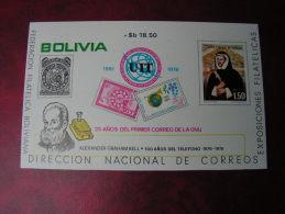== Bolivia 1986 UIT Bl. 73  €  36,00 - Bolivien