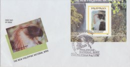PHILLIPPINES 1995 FDC Eagle - Aigles & Rapaces Diurnes