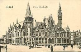 GAND. L'EDIFICIO DELLE POSTE CENTRALI. BELLA  CARTOLINA DI INIZI '900 - Belgio