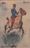 L' EQUITATION 1904 - Cheval Et Un Militaire - - Vallet, L.