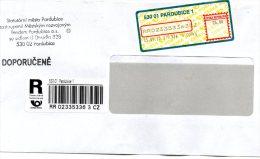 """Czech Republic 2010, Pardubice 530 01, Pardubice 1, Apost Letter, Barcode """"R"""", 26 Kc. - Brieven En Documenten"""