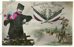 Souvenir ....du Régiment D'Artillerie L'Abergement Les Auxonne - Auxonne
