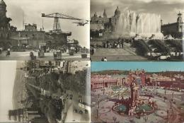 BARCELONA - Lot De 9 CPSM (2 écrites) - Barcelona