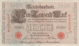 1000 MARK 21-04-1910  N° 3954169 N - 1871-1918: Deutsches Kaiserreich