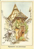 Eguisheim - Rue Pittoresque. (68) - France