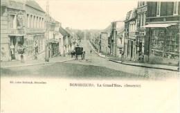 Belgique BONSECOURS  La Grand'Rue (Descente) - Tournai