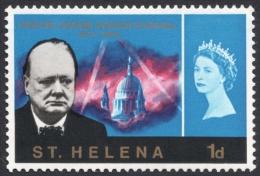 St. Helena, 1 P. 1966, Scott # 184, MH - Saint Helena Island