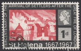 St. Helena, 1 P. 1967, Scott # 197, Used - Saint Helena Island