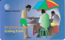 ST.VINCENT & THE GRENADINES - P6 - Pre-paid EC$25 - St. Vincent & The Grenadines