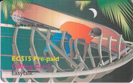 ST.VINCENT & THE GRENADINES - P8 - Pre-paid EC$15 - St. Vincent & The Grenadines