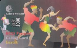 ST.VINCENT & THE GRENADINES - P11 - Pre-paid EC$5 - St. Vincent & The Grenadines