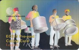ST.VINCENT & THE GRENADINES - P12 - Pre-paid EC$15 - St. Vincent & The Grenadines