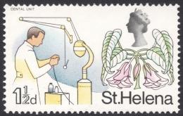 St. Helena, 1 1/2 P. 1968, Scott # 211, MH - Saint Helena Island