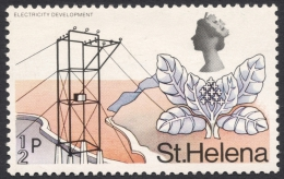 St. Helena, 1/2 P. 1971, Scott # 244, MH - Saint Helena Island