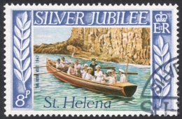 St. Helena, 8 P. 1977, Scott # 311, Used - Saint Helena Island