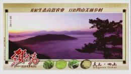 Vegetable Pepper Cowpea Radish Cauliflower,CN 11 Developing Efficient Ecological Agriculture PSC Specimen Overprint - Legumbres