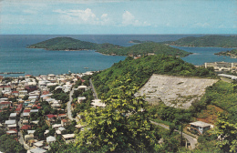 Charlotte Amalie Harbor, Hassel And Water Islands Offshore, St. Thomas, Virgin Islands, 40's-60's - Other